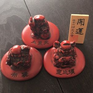 Japanese lucky 🍀 fortune Shitennou